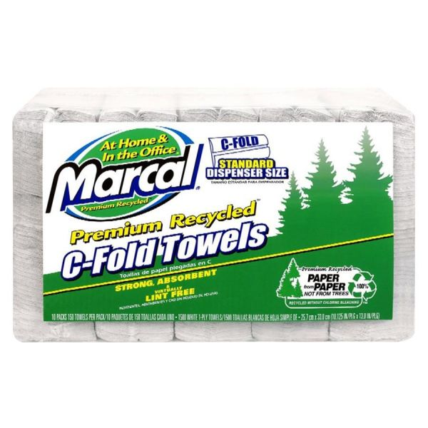 Marcal C-Fold Paper Towels