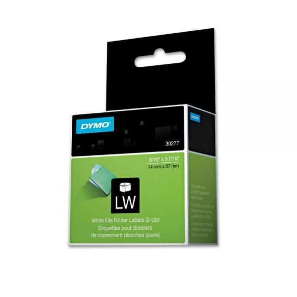 DYMO 2-Up Printable File Folder Labels