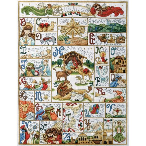 Oh Holy Night Counted Cross Stitch Kit