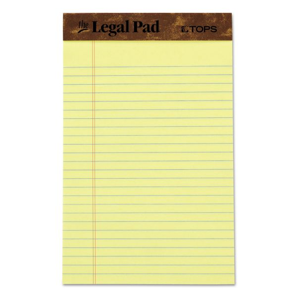 TOPS Junior Yellow Legal Pads