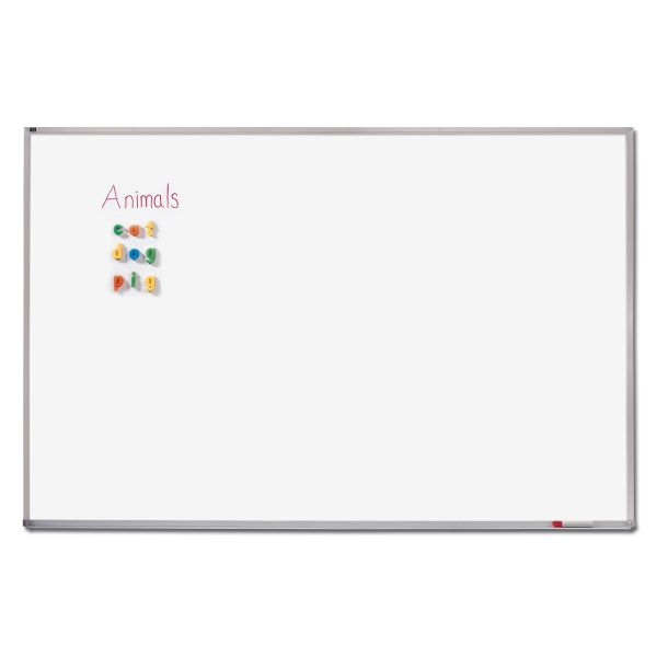"Quartet 144"" x 48"" Magnetic Porcelain Dry Erase Whiteboard"