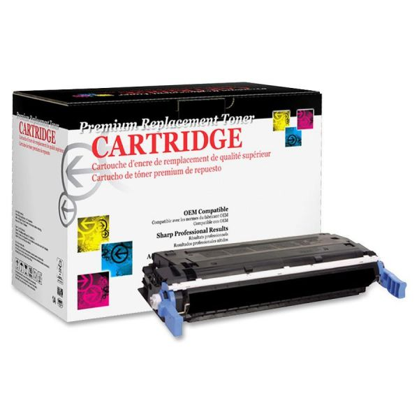West Point Products Remanufactured HP C9720A Black Toner Cartridge