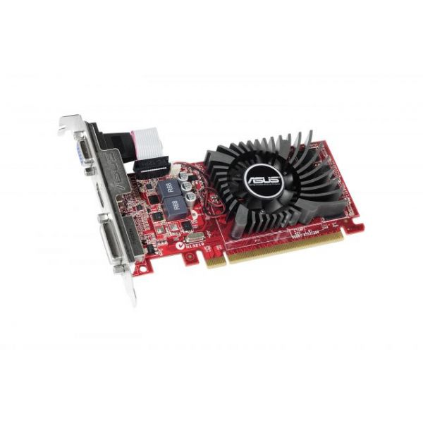 Asus R7240-2GD3-L Radeon R7 240 Graphic Card - 730 MHz Core - 2 GB DDR3 SDRAM - PCI Express 3.0 - Low-profile