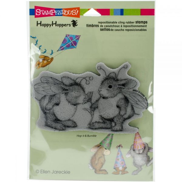 "Stampendous House Mouse Cling Stamp 6.5""X4.5"""