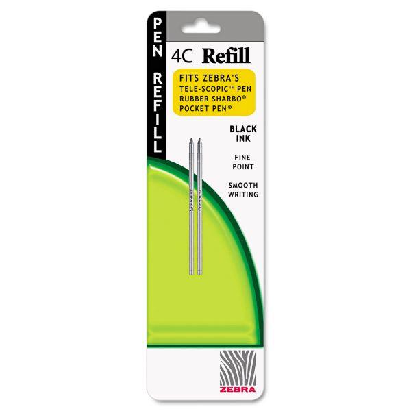 Zebra Pen 4C-Refills