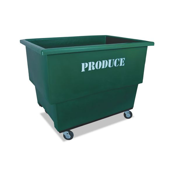 Royal Basket Trucks Produce Cart, 32 x 46 x 37, 600 lbs. Capacity, Green