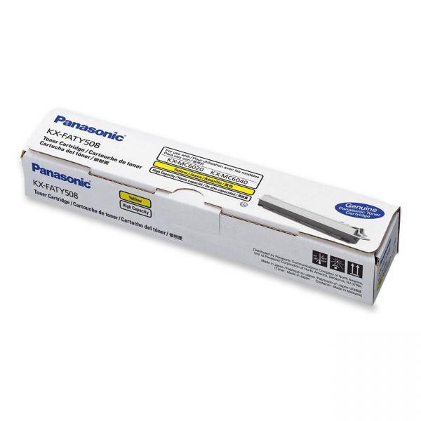 Panasonic KX-FATY508 Yellow Toner Cartridge