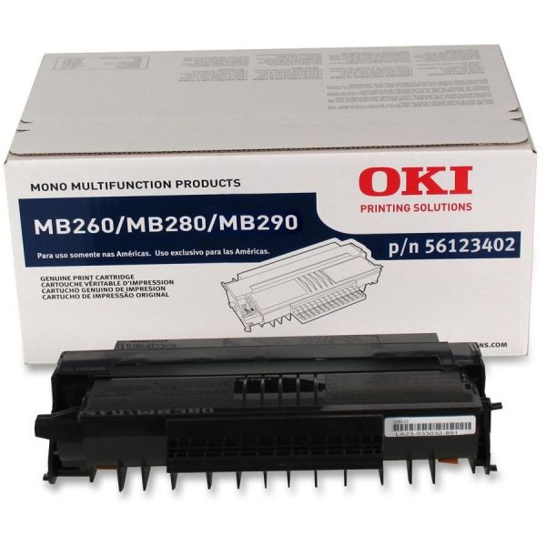 Oki 56123402 Black Toner Cartridge