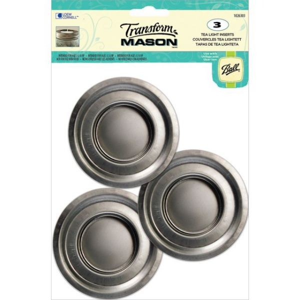 Transform Mason Ball Lid Inserts 3/Pkg