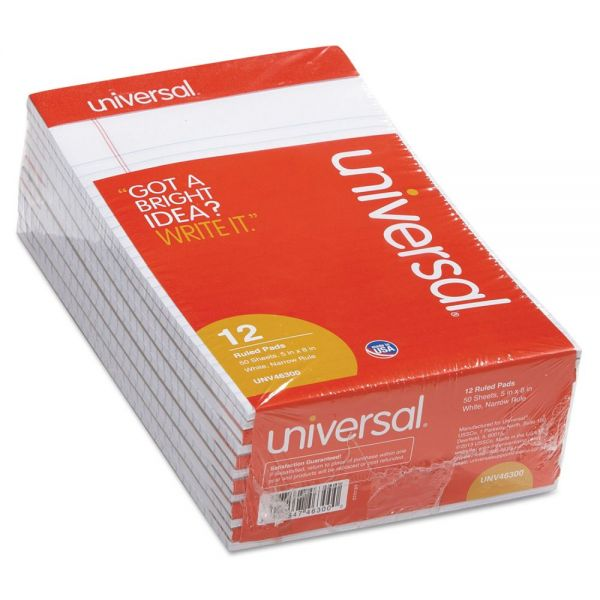 Universal Junior White Legal Pads