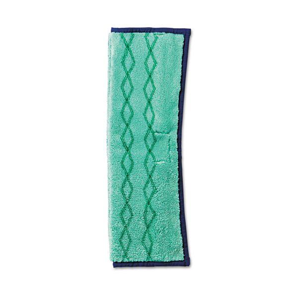 Rubbermaid Commercial HYGEN HYGEN Microfiber Dust and Wet Mop Plus, Green/Blue