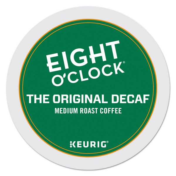 Eight O'Clock Original Decaf Coffee K-Cups
