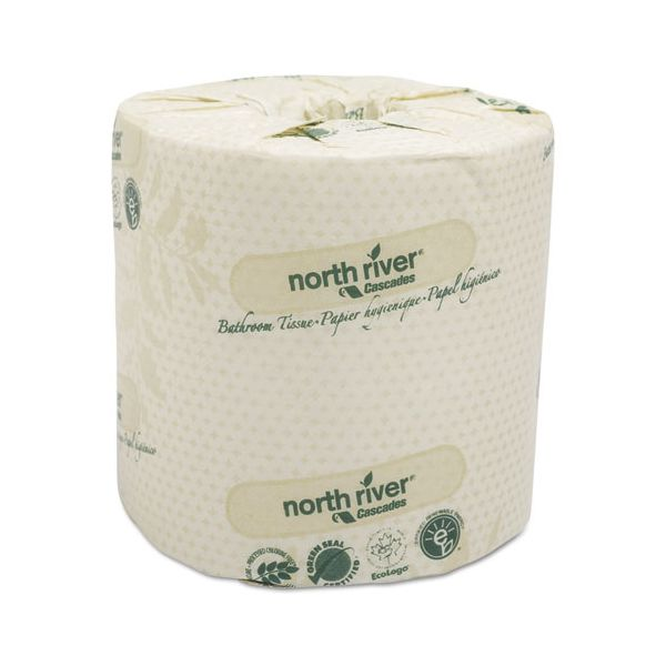 Cascades North River Standard 1 Ply Toilet Paper