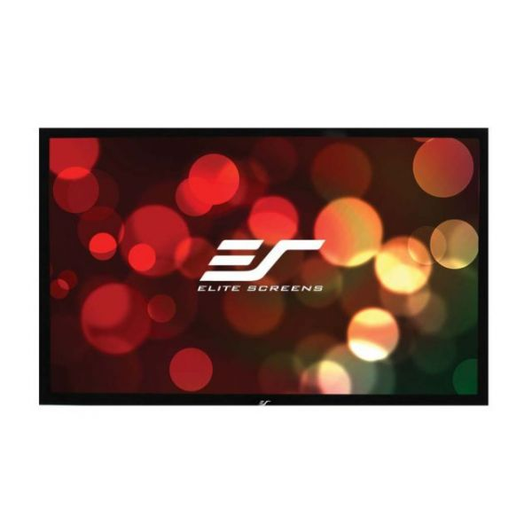 """Elite Screens ezFrame 2 R100WH2 Fixed Frame Projection Screen - 100"""" - 16:9 - Wall Mount"""
