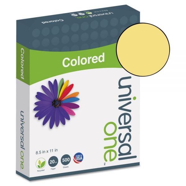 Universal One Premium Colored Paper - Goldenrod