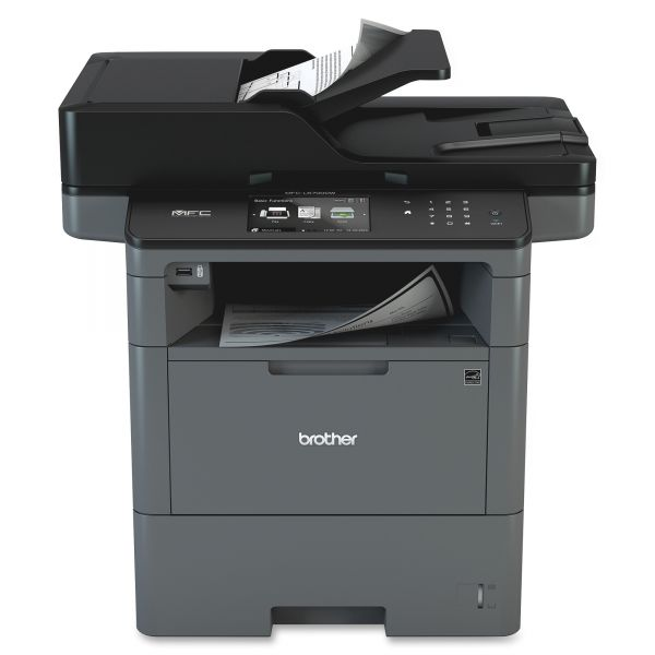Brother MFC-L6700DW Wireless Business Laser All-in-One Printer, Copy/Fax/Print/Scan