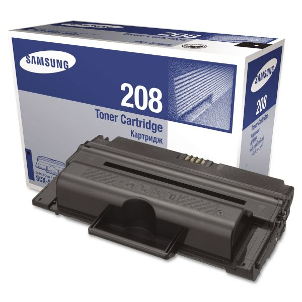 Samsung MLTD208S Toner, 4000 Page-Yield, Black
