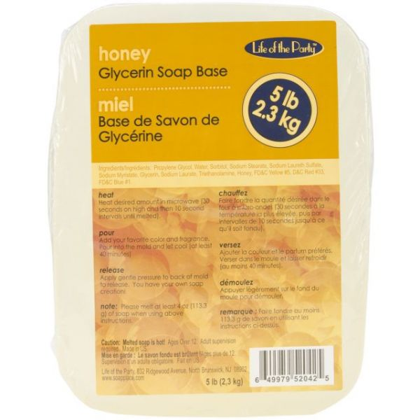 Glycerin Soap Base 5lb