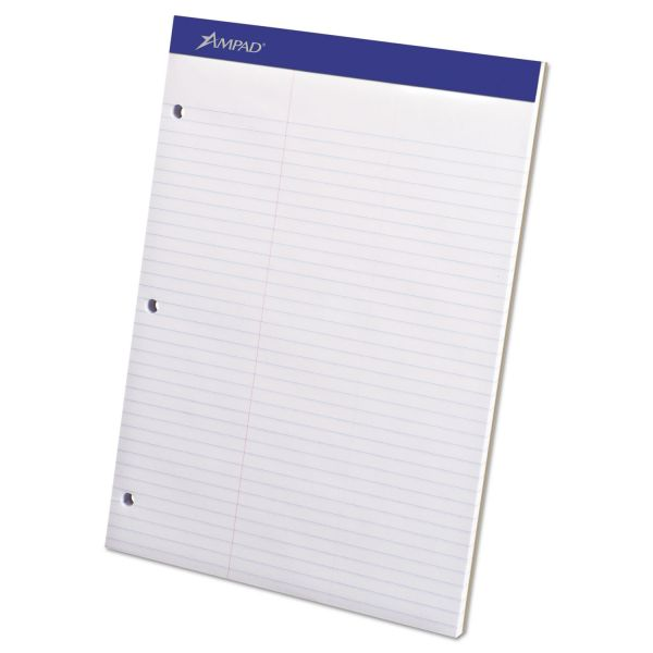 Ampad Dual Letter-Size White Legal Pad