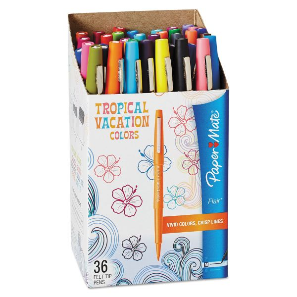 Paper Mate Flair Limited Edition Felt Tip Stick Pens