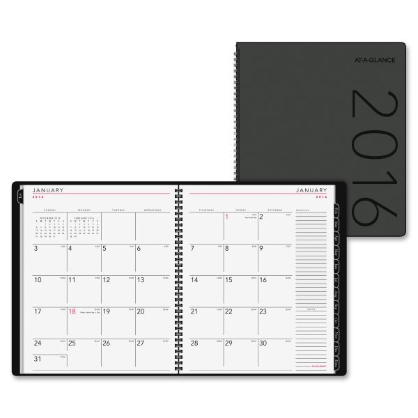 At-A-Glance Contempo Large Monthly Planner