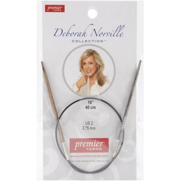 Deborah Norville Fixed Circular Knitting Needles