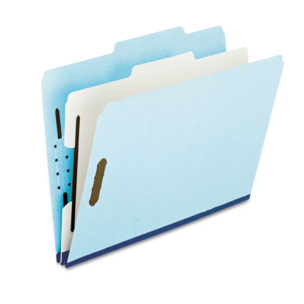 Pendaflex 1-Divider Pressboard Classification Folders