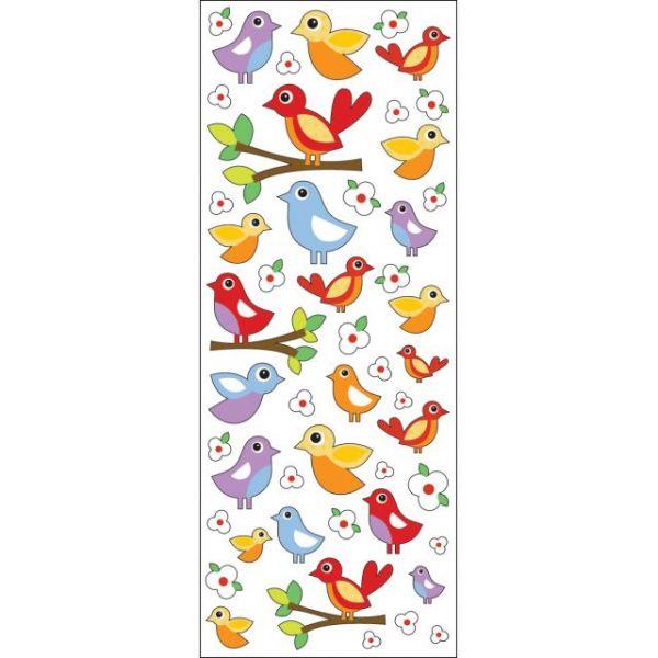 Sticko Puffy Classic Stickers