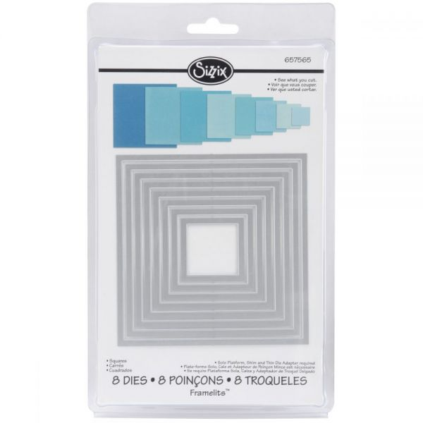 Sizzix Framelits Dies 8/Pkg