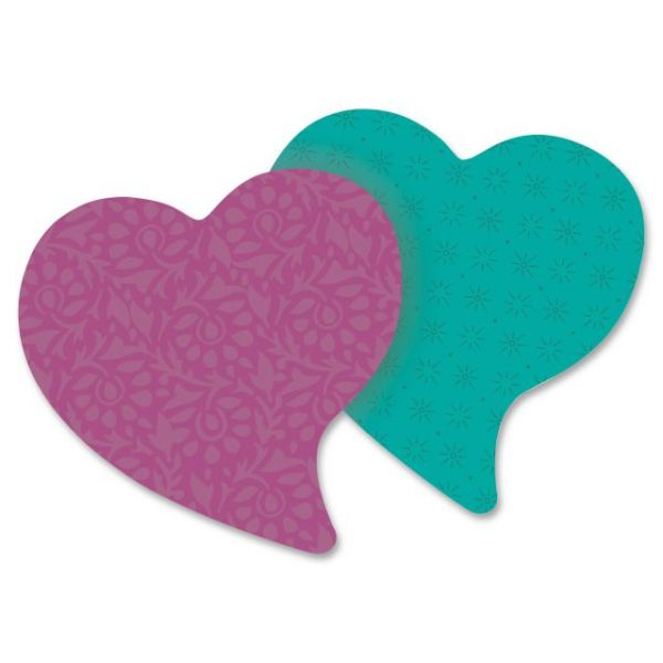 Post-it Super Sticky Heart Shaped Notes