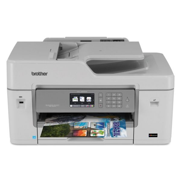Brother Business Smart Pro MFC-J6535DW Color All-in-One with INKvestment Cartridges