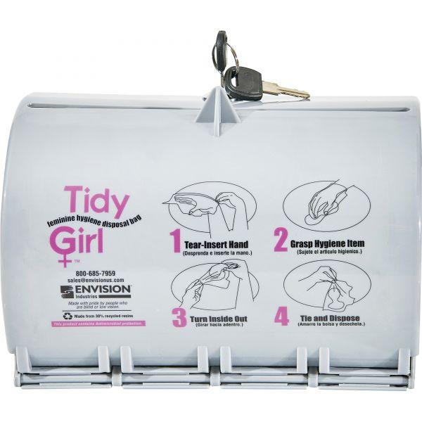 Tidy Girl Feminine Hygiene Disposal Bag Dispenser