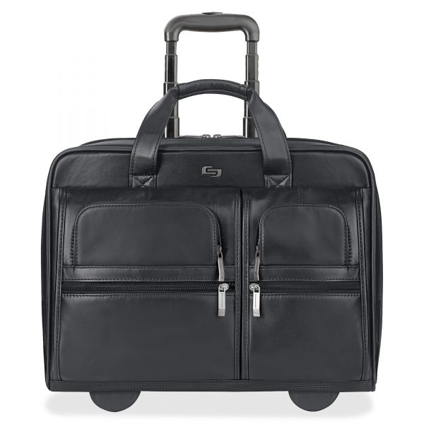 """Solo Classic Carrying Case for 15.6"""" Notebook - Black"""