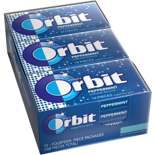 Orbit Peppermint Sugar-Free Gum