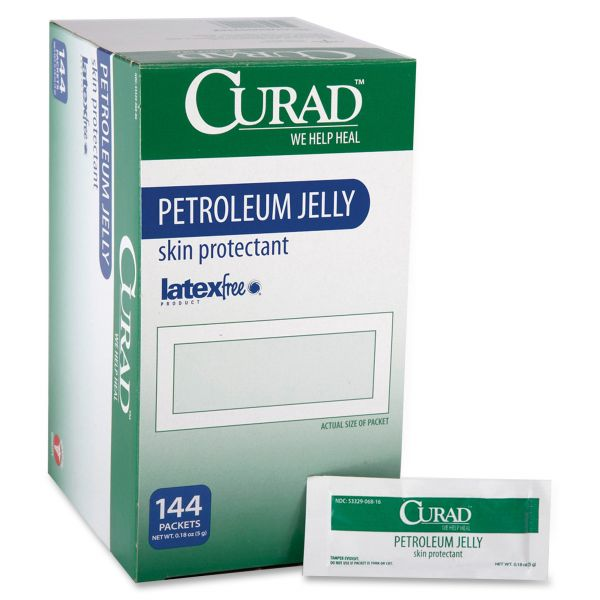 Curad Petroleum Jelly Ointment Packets