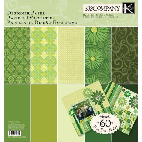 "Sheer Simplicity Designer Paper Pad 12""X12"" 60 Sheets"