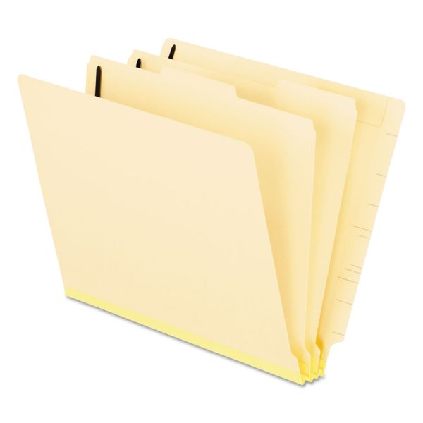 Pendaflex Manila 2-Divider End Tab Classification Folders
