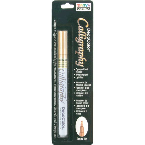 Deco Color Calligraphy Opaque Paint Marker 2mm