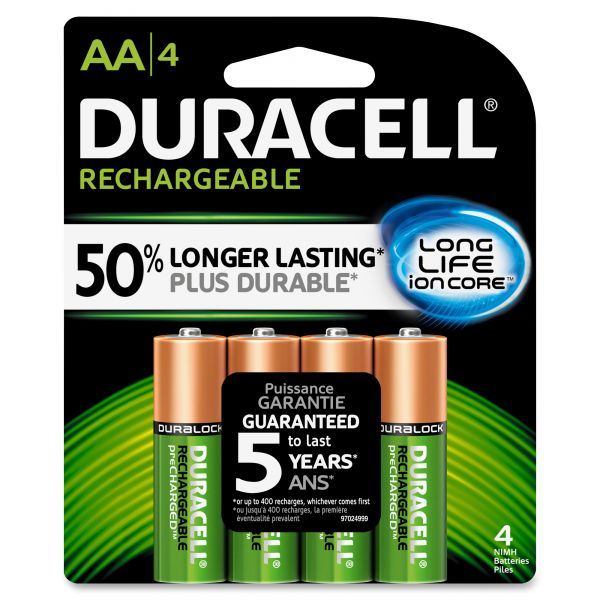 Duracell Rechargeable AA Batteries