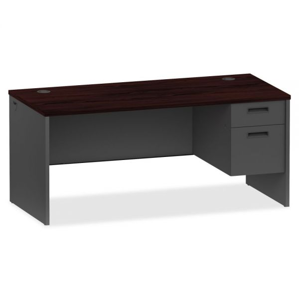 Lorell Prominence 79000 Series Right Pedestal Computer Desk