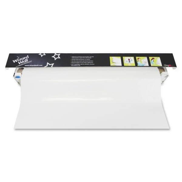 """Wizard Wall 13"""" Dry Erase Static-Cling Film"""