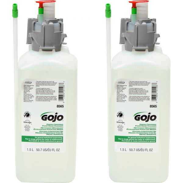 GOJO CX & CXI Green Certified Foam Hand Soap Refills