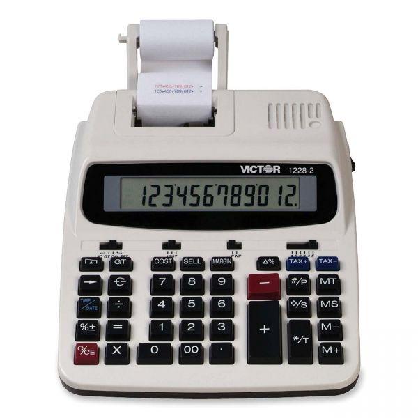 Victor 12282 Professional Printing Calculator