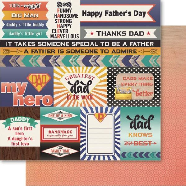 Father Double-Sided Cardstock