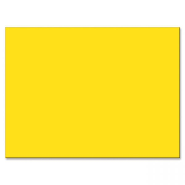 Tru-Ray Sulphite Yellow Construction Paper
