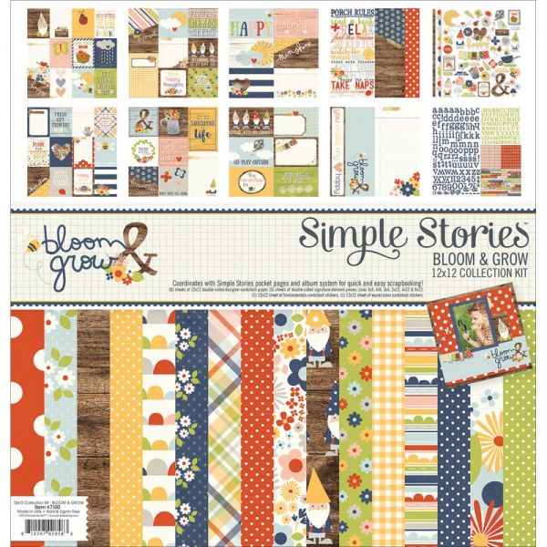 "Simple Stories Collection Kit 12""X12"""