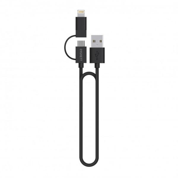 Cygnett Flow 2-in-1 Cable 1m
