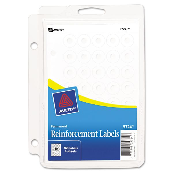 Avery Binder Pack Hole Reinforcements