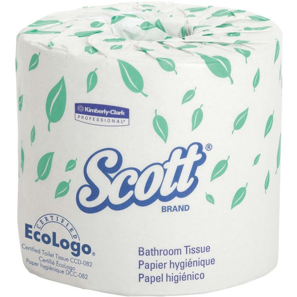 Scott Individually Wrapped Premium Embossed Toilet Paper