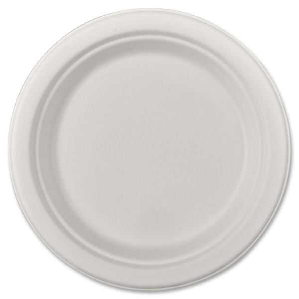 "SCT Heavy Weight 9"" Bagasse Plates"